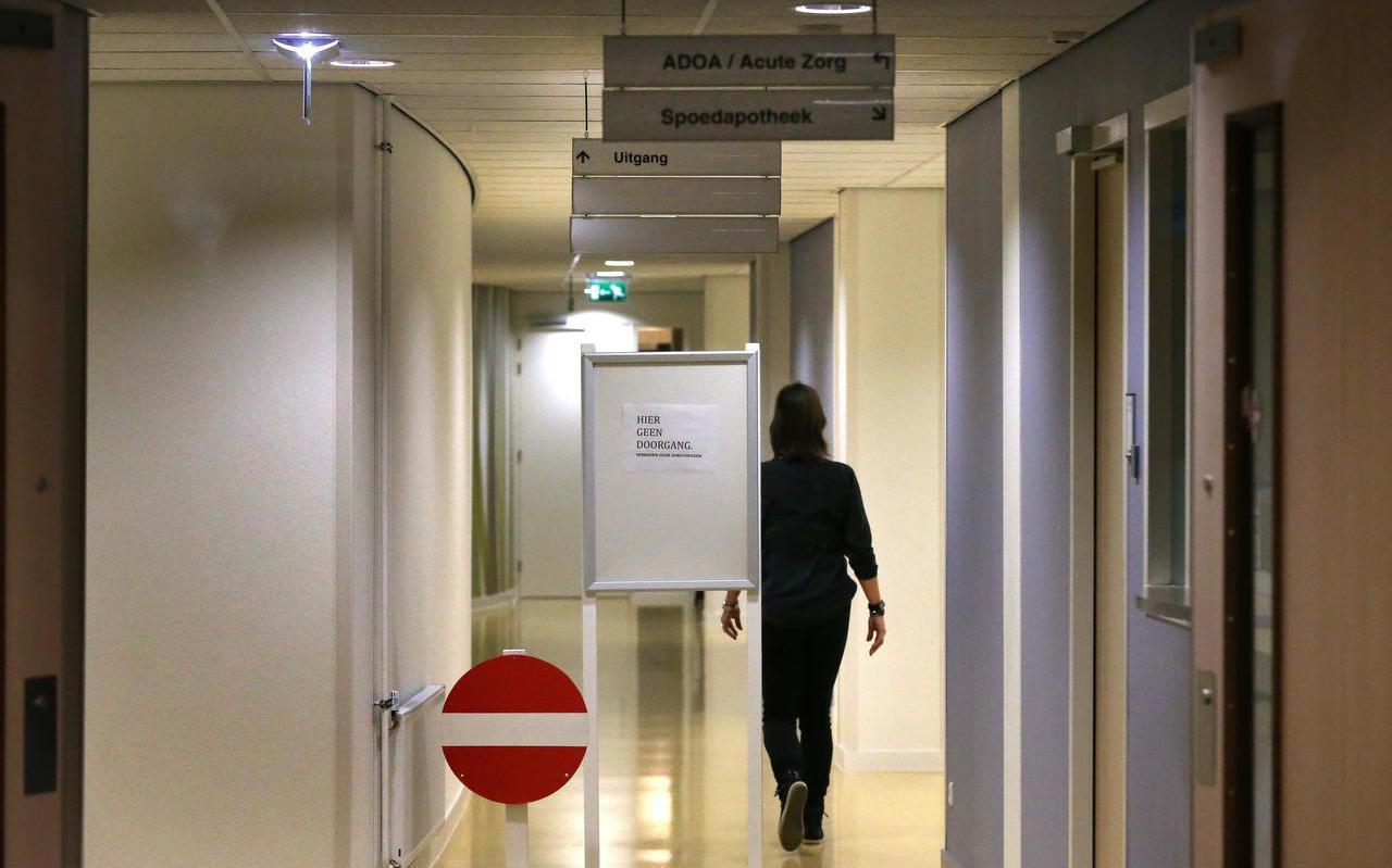 De Sionsberg in Dokkum net na de uitspraak van het faillissement eind 2014.