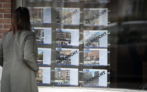 De woningkrapte in Nederland neemt toe.