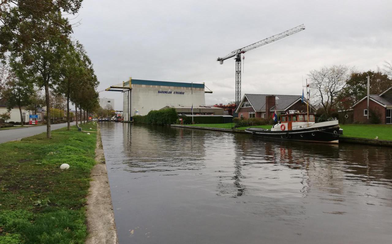 Scheepswerf Barkmeijer in Stroobos ging in 2018 failliet.