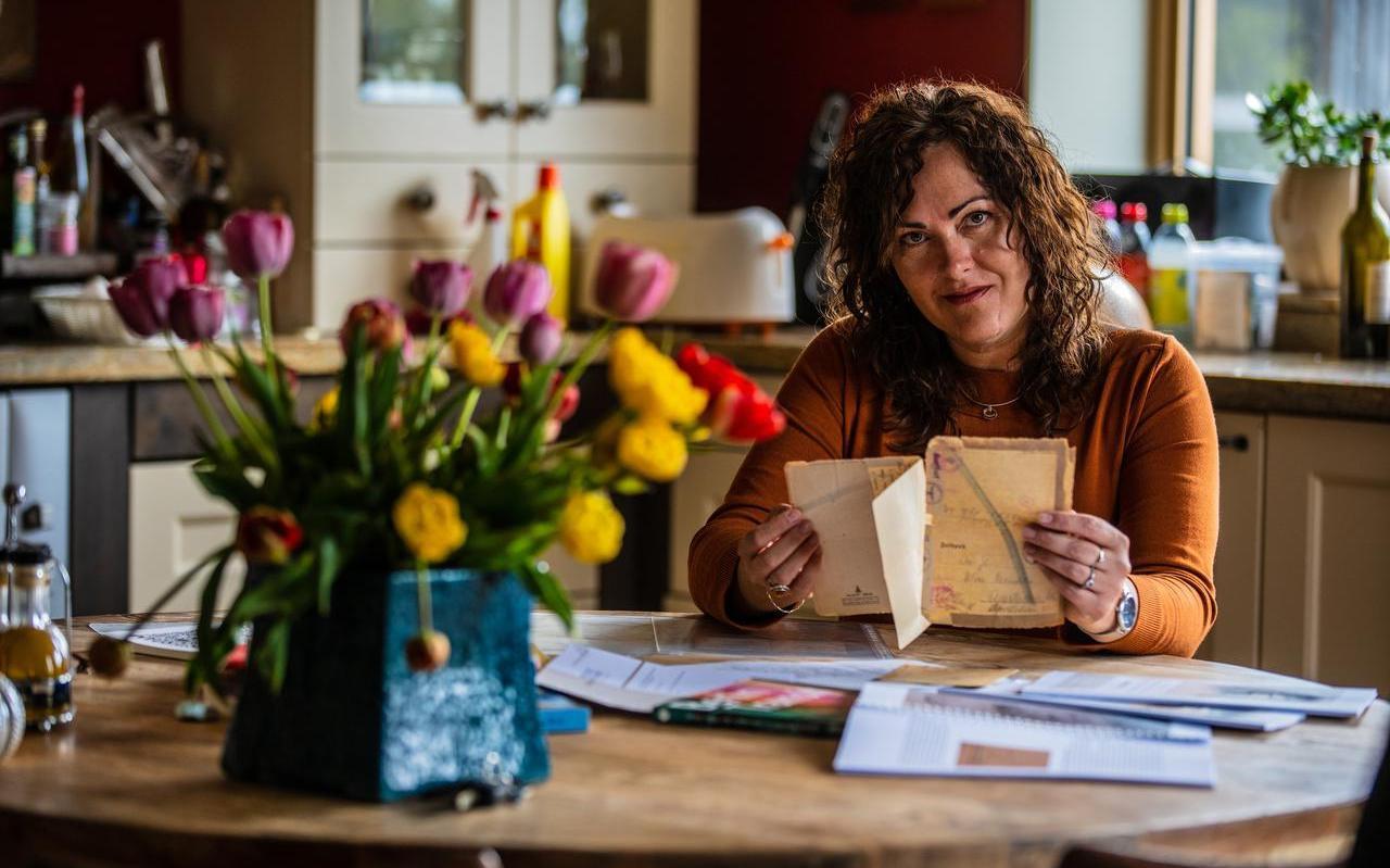 Heleen Wagemans verdiepte zich in de oorlogsbrieven van een Duitse soldaat en schreef er een boek over.