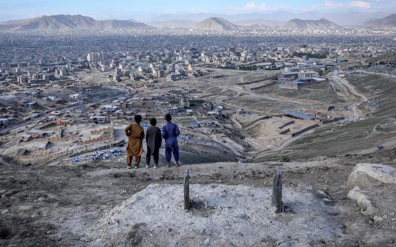 Uitzicht over de Afghaanse hoofdstad Kabul.