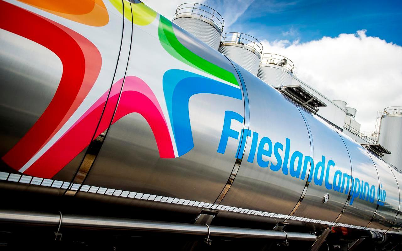 De kaasfabriek van FrieslandCampina in Workum.