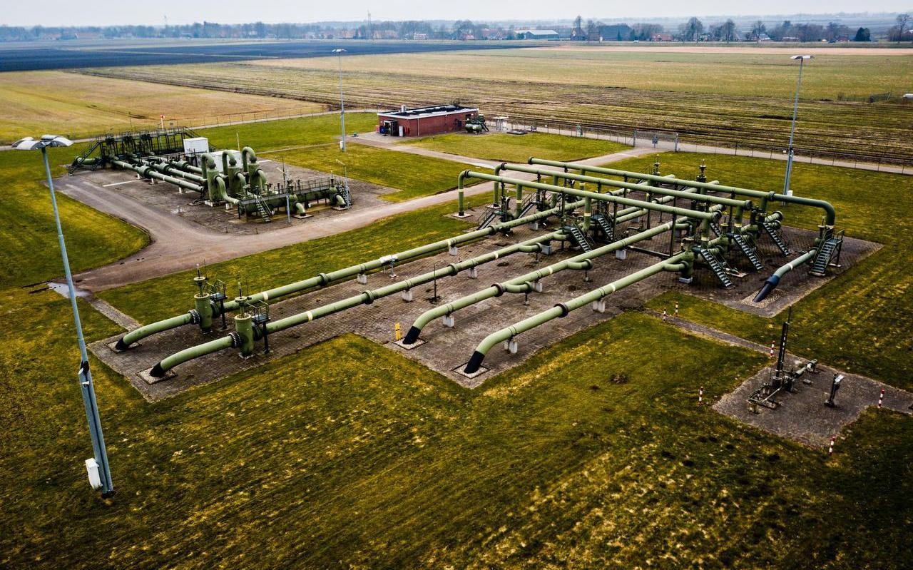 Een gaswinningslocatie van de NAM. Nieuwe activiteiten kunnen wellicht belemmerd worden doordat de Raad van State eerder dit jaar een streep zette door de PAS-regelingen voor stikstof.