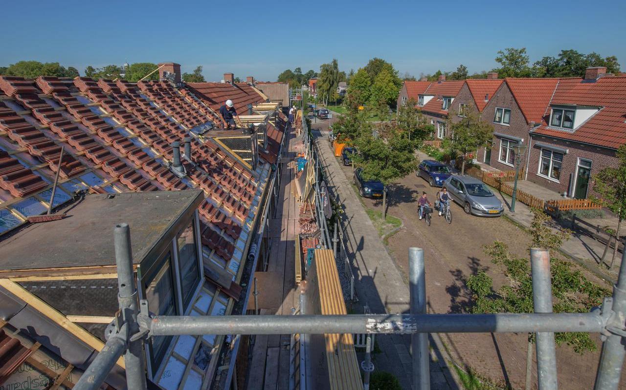 De oudste woningen van woningcorporatie Accolade in Drachten, Beter Wonen, kregen vorig jaar een opknapbeurt.