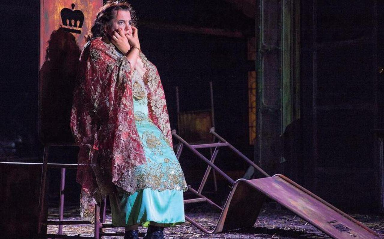 Francis van Broekhuizen in Opera Spanga's eerdere uitvoering van Macbeth. De komende jaren krijgt het gezelschap subsidie van het Fonds Podiumkunsten.