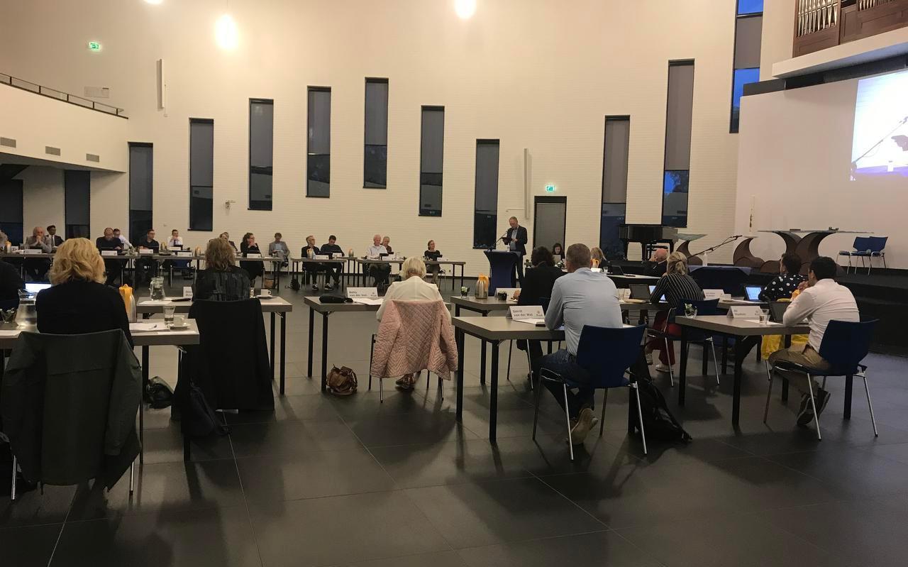 De gemeenteraad van Heerenveen in Trinitas.