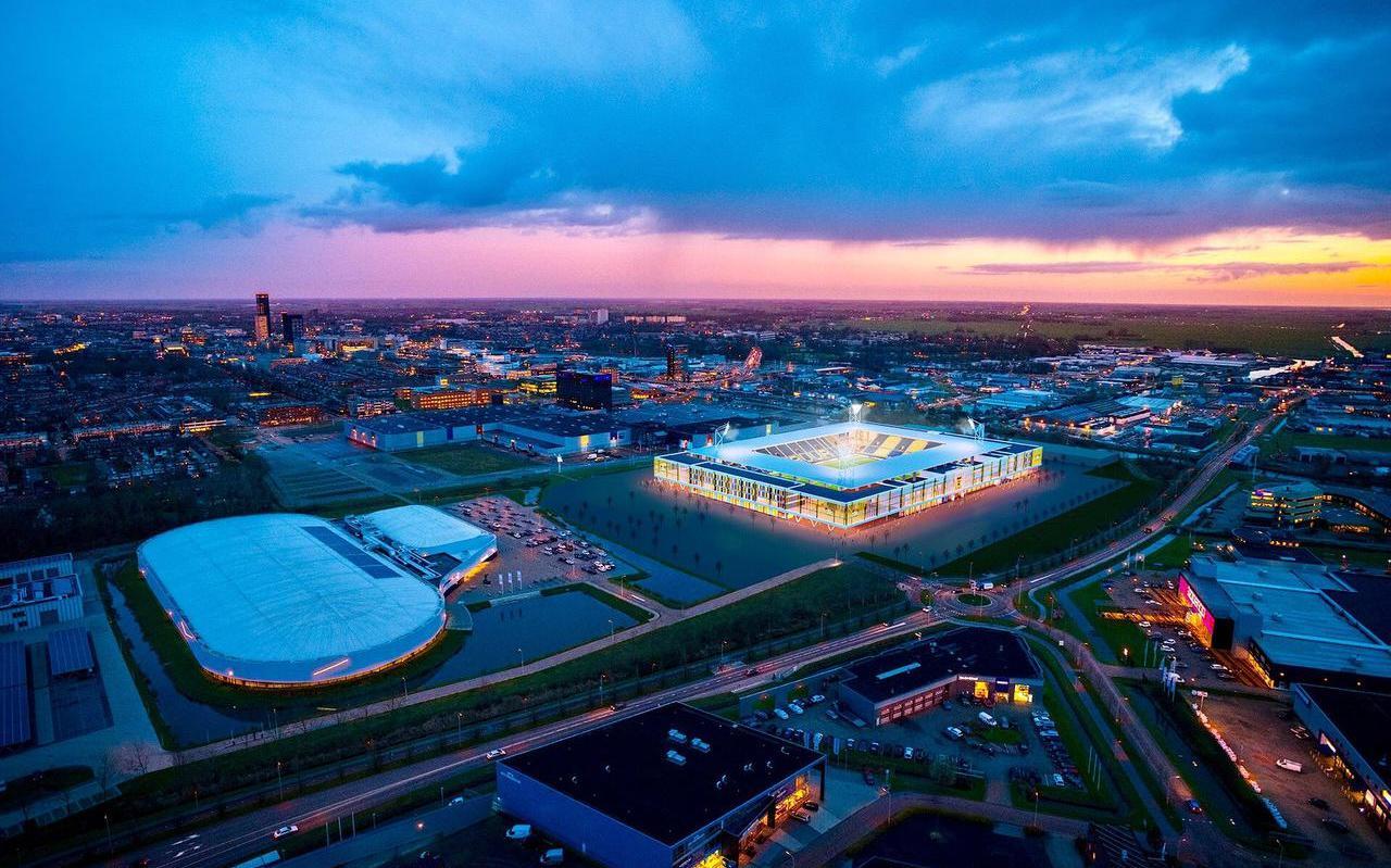 Bouwbedrijf Van Wijnen verwacht nog zo'n twee maanden nodig te hebben om een eventuele overname van de bouw van het nieuwe Cambuurstadion rond te krijgen.