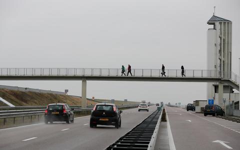 Het monument bij de Afsluitdijk trok tot voor kort honderdduizenden mensen per jaar.