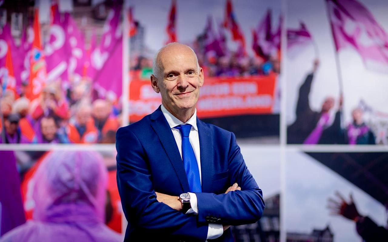 CNV-voorzitter Piet Fortuin.