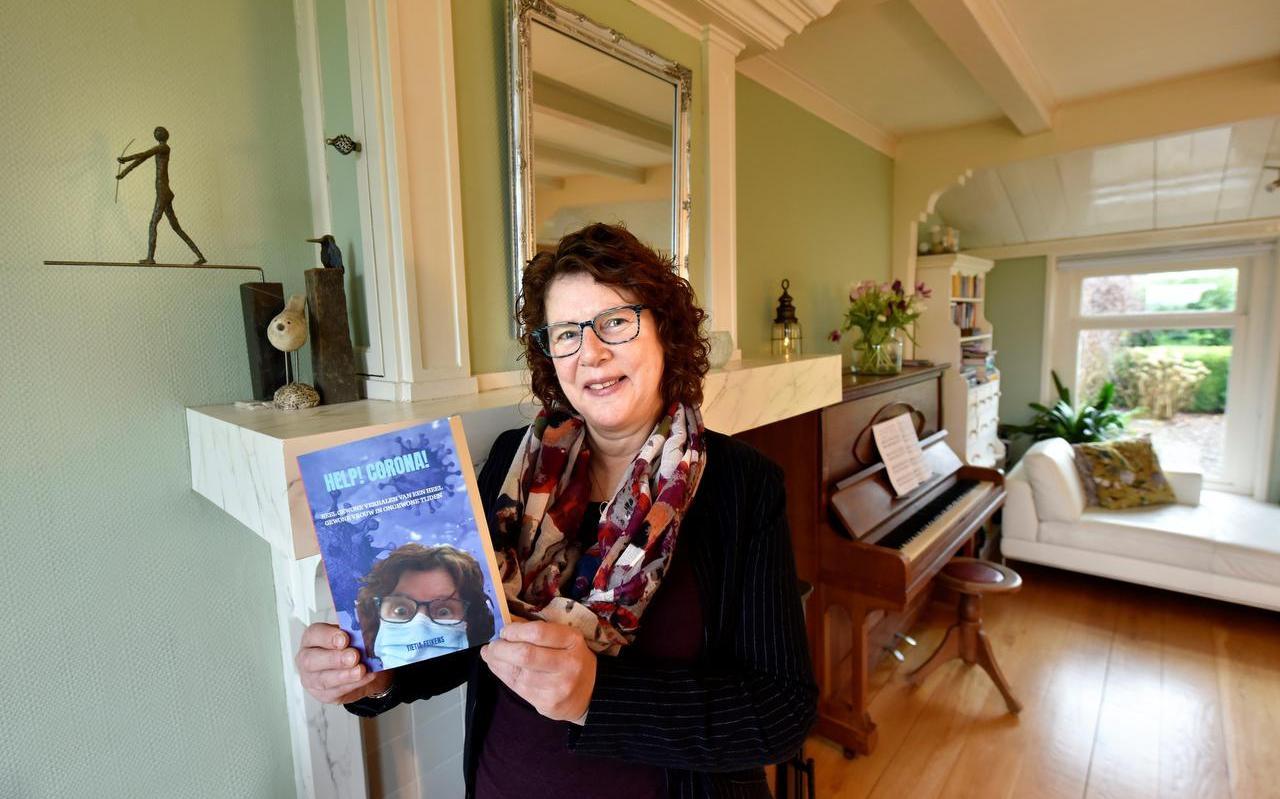 Titia Feikens uit Baaium blijft schrijven.