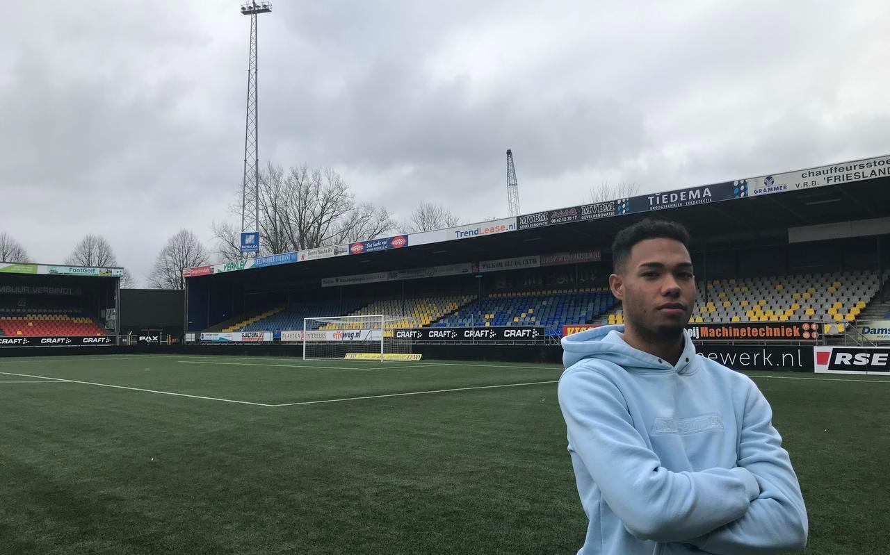 Milan van Ewijk debuteert vanavond voor SC Cambuur tegen MVV Maastricht.