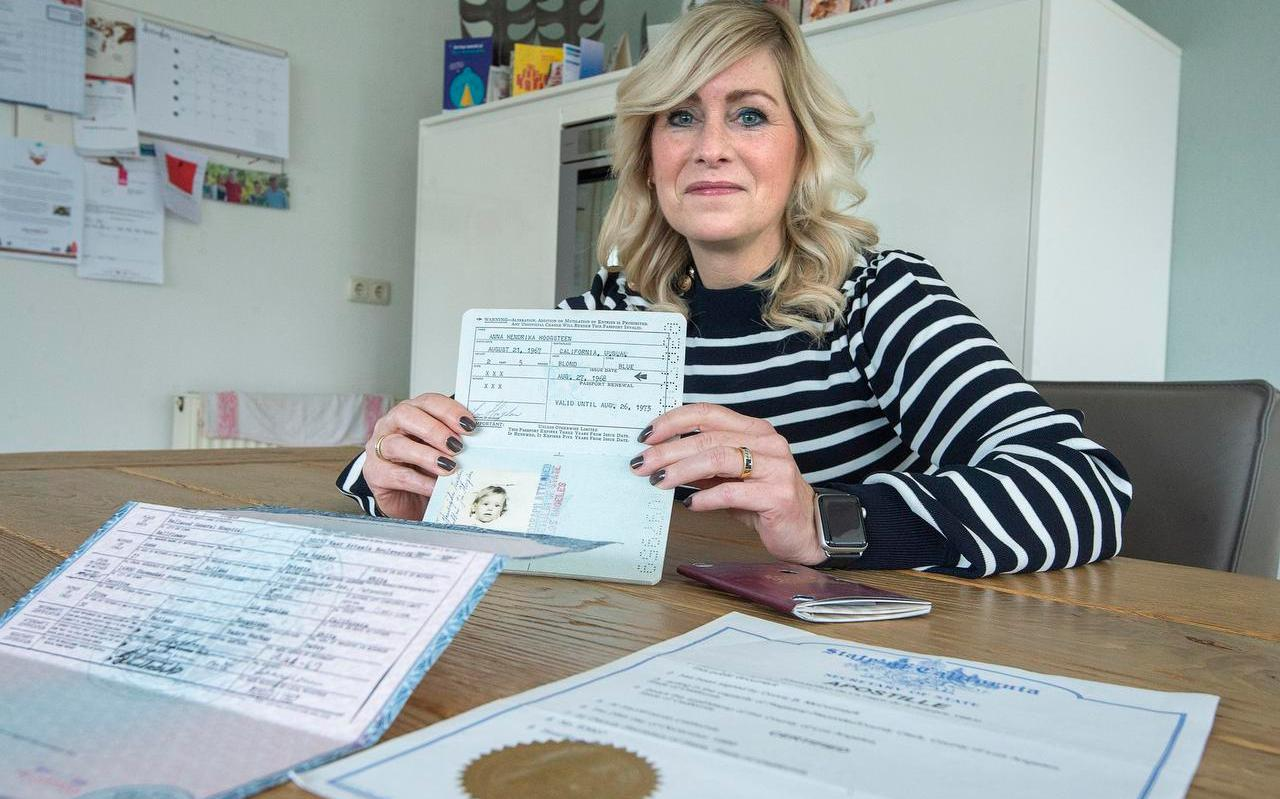 Annie Brouwer moet vanwege haar geboorte in de VS ineens belasting gaan betalen.