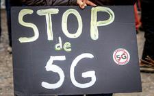 Begin dit jaar demonstreerden tegenstanders van 5G tijdens de 5G Global Protest Day.