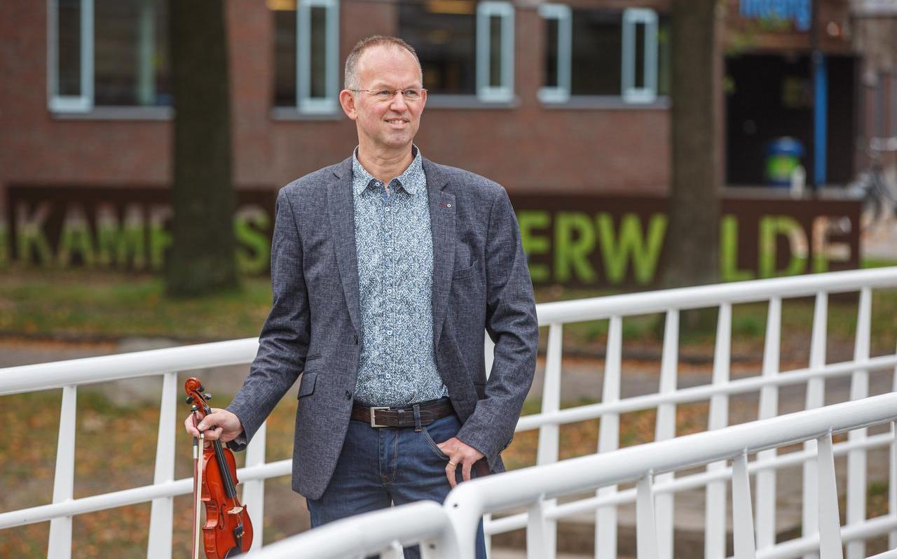Dirigent en muzikant Thijs Oud.