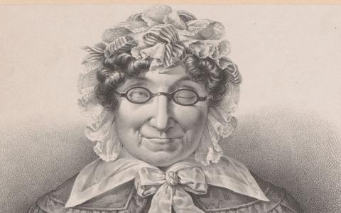 Portret van Petronella Moens door Michel Mourot.