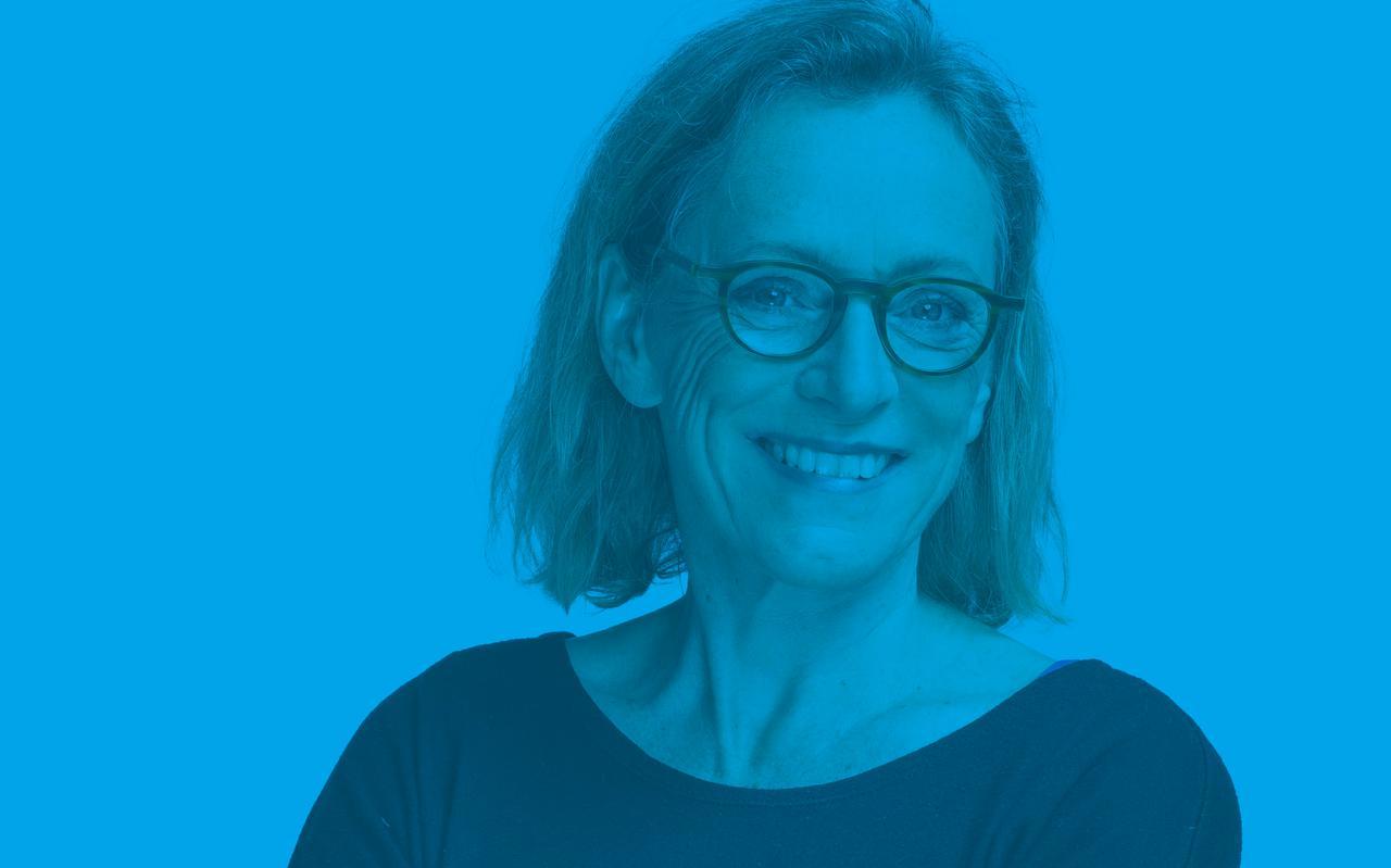 Ria Kraa, hoofdredacteur van het Friesch Dagblad.