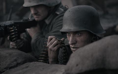 Scène uit 'De slag om de Schelde'.