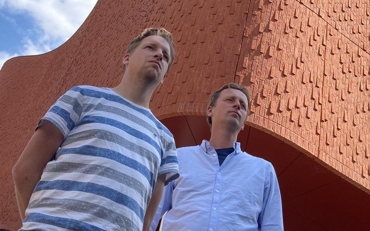 Bart Dokter (links) en Rutger Veenstra, de mannen achter het nieuwe bedrijf Vitruvian Man Films.