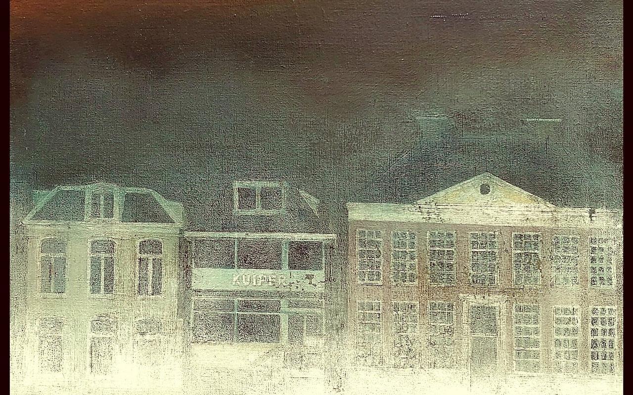 Mist oer't breedpad van Rabbo Ploeger
