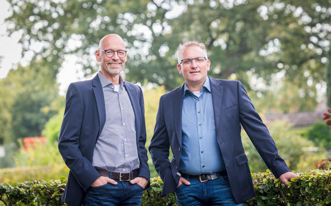 Ale Kort (links) en Wiebe van Hes.