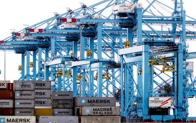 Containerterminals van APM in Rotterdam bleven enkele jaren geleden noodgedwongen verschillende dagen gesloten door een digitale aanval met ransomware.