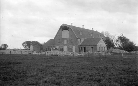 De eerste Amerikaanse boerderij bij Scharsterbrug, 1923.