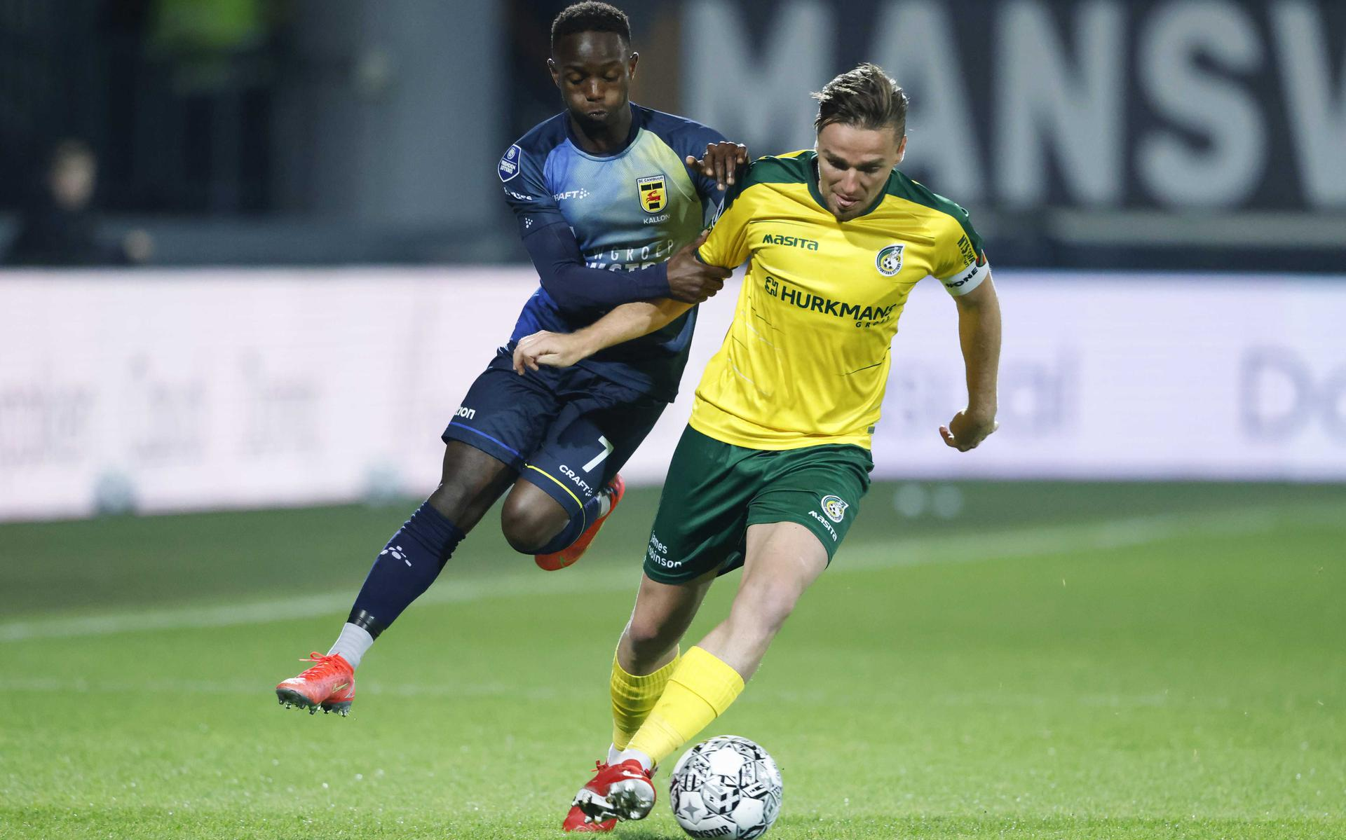 Fear reigns at SC Cambuur; which brings the defeat against Fortuna Sittard on itself