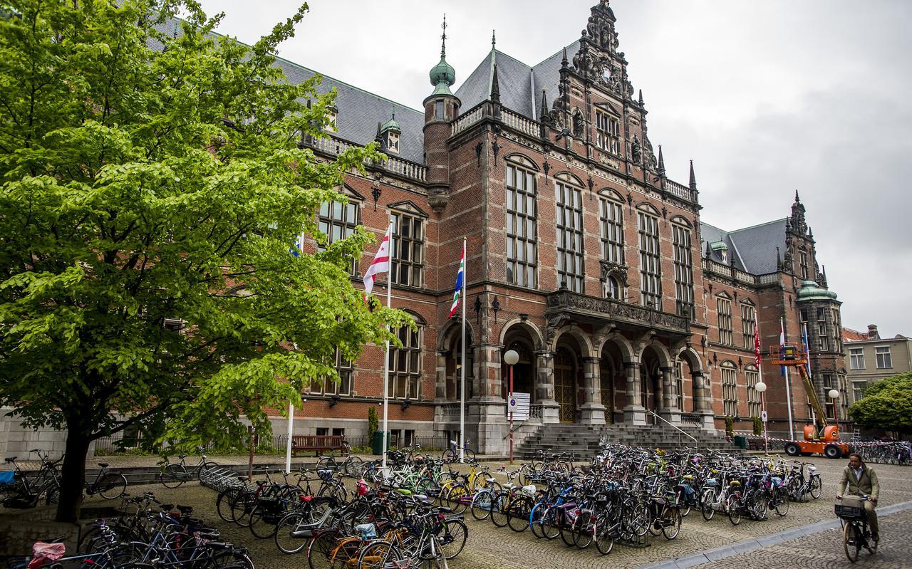 Het Academiegebouw van Rijksuniversiteit Groningen.