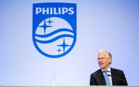 Topman Frans van Houten van Philips.