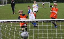Volop voetbalplezier bij Leeuwarder Zwaluwen.
