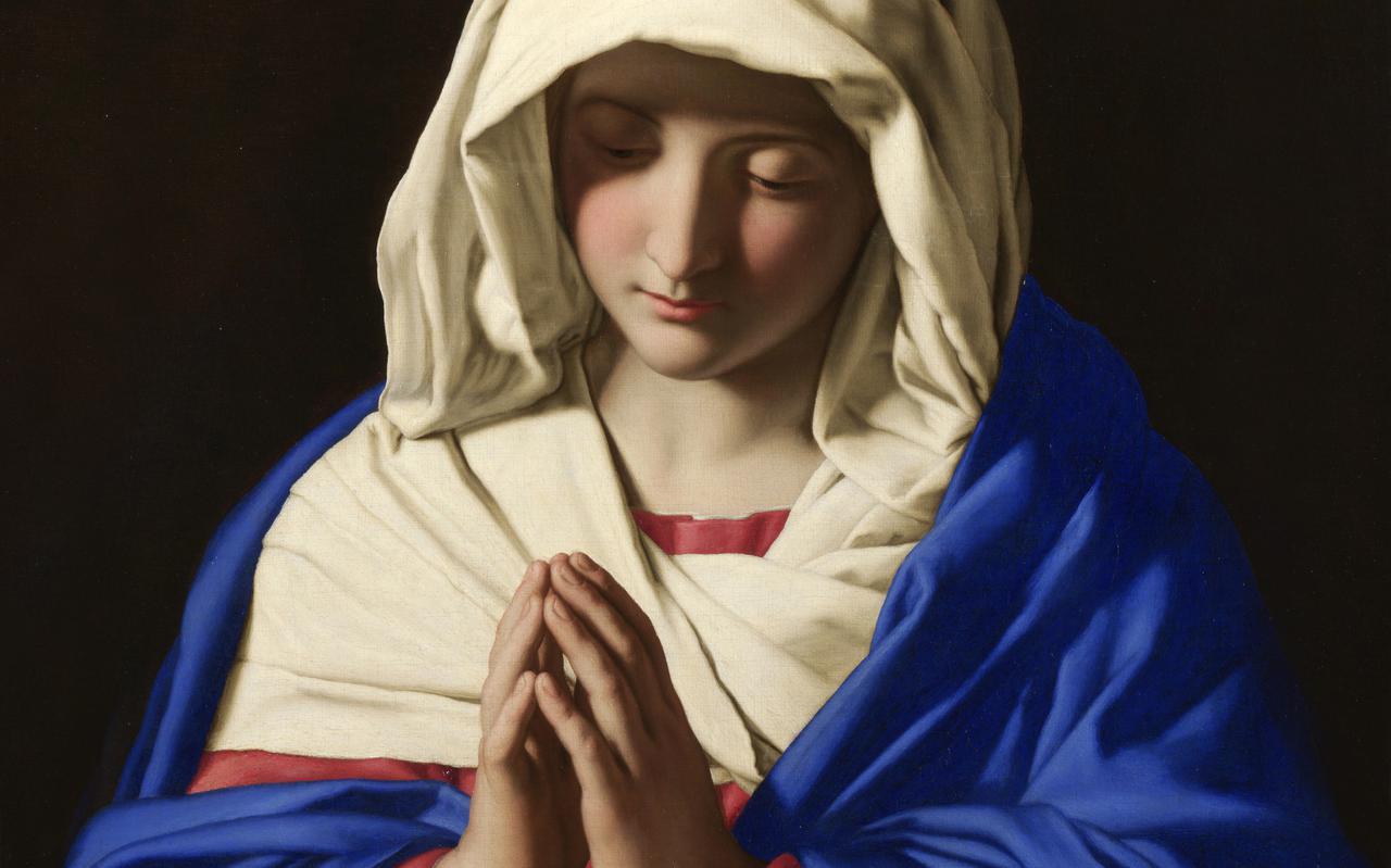 Maria door Sassoferrato (1609-1685)