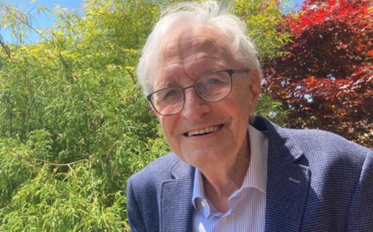 Jan Veenhof. Donderdag werd zijn autobiografie gepresenteerd in Thun (Zwitserland)