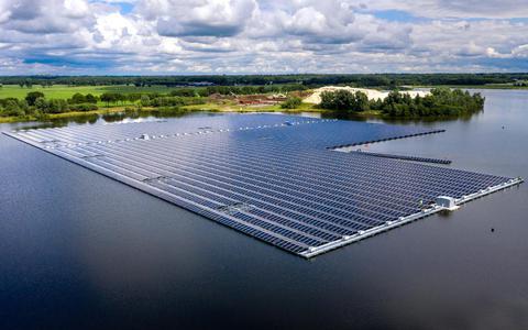 Zonnepanelen leveren een steeds grotere bijdrage aan groene energie.