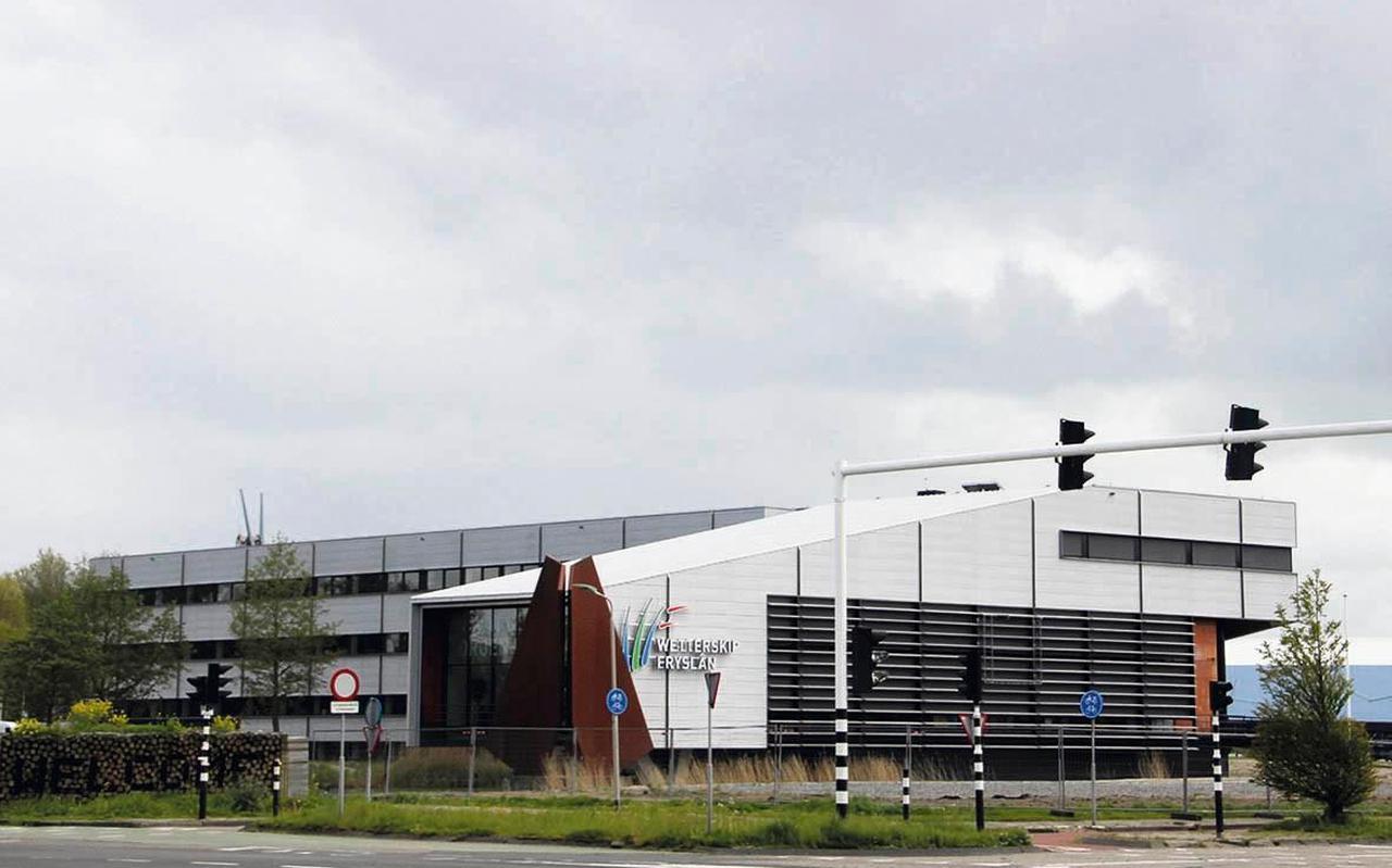 Het gebouw van Wetterskip Fryslân in Leeuwarden.