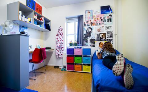 Een slachtoffer van seksuele uitbuiting in een opvanghuis in Rotterdam.
