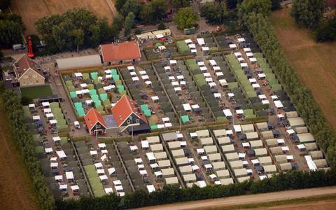Camping Appelhof op Terschelling, vorig jaar zomer.