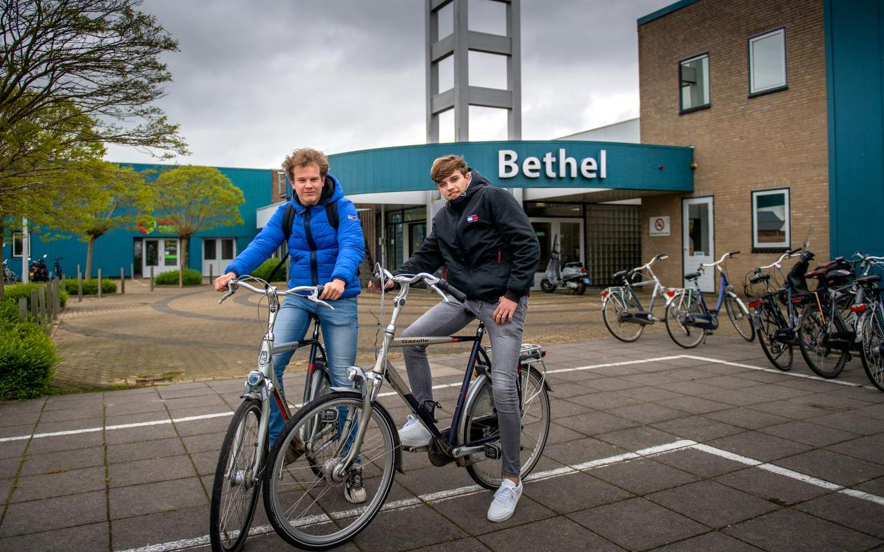 Nederland, Drachten, 26-05-2021. Eindexamen van het Liudger vindt onder andere plaats in de Bethel Kerk in Drachten. KM 12