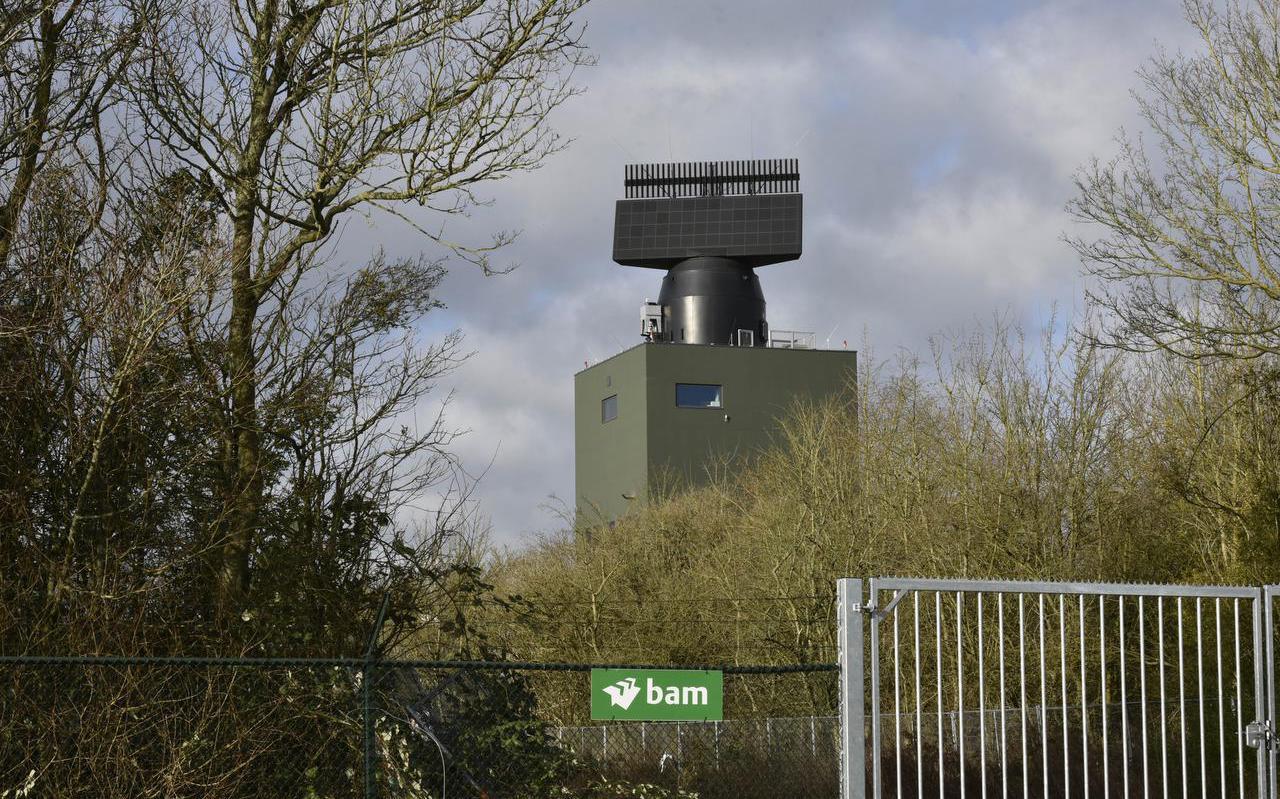 De nieuwe radarpost in Wier.