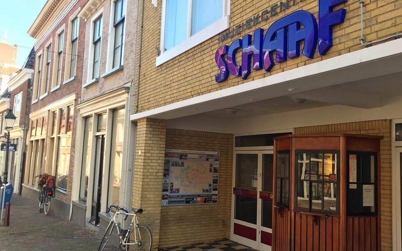 Zalen Schaaf in de Leeuwarder Breedstraat/