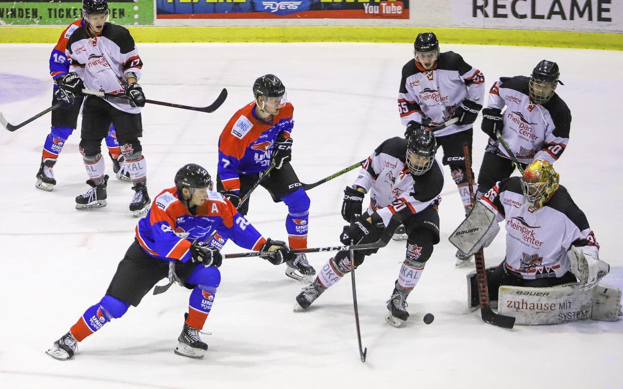 Actiebeeld uit een wedstrijd van UNIS Flyers.