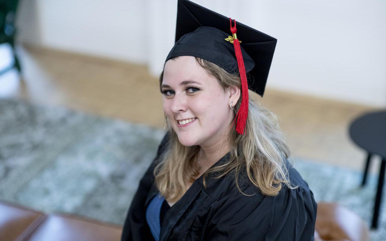 Maryse Brandsma uit Ferwert behoort tot de eerste lichting afgestudeerde bachelors aan de Campus Fryslân.