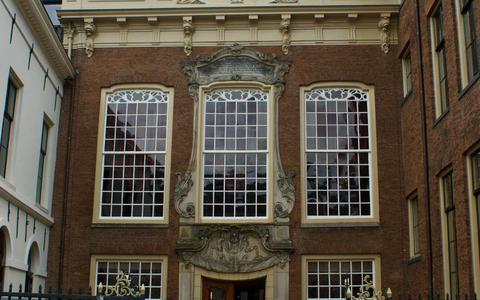 Het stadhuis van Leeuwarden.