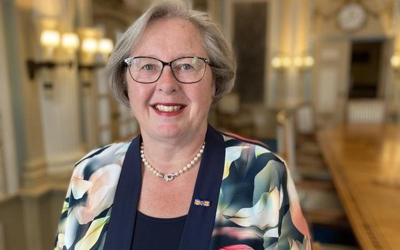 Sandra Korthuis, waarnemend burgemeester van Ooststellingwerf.
