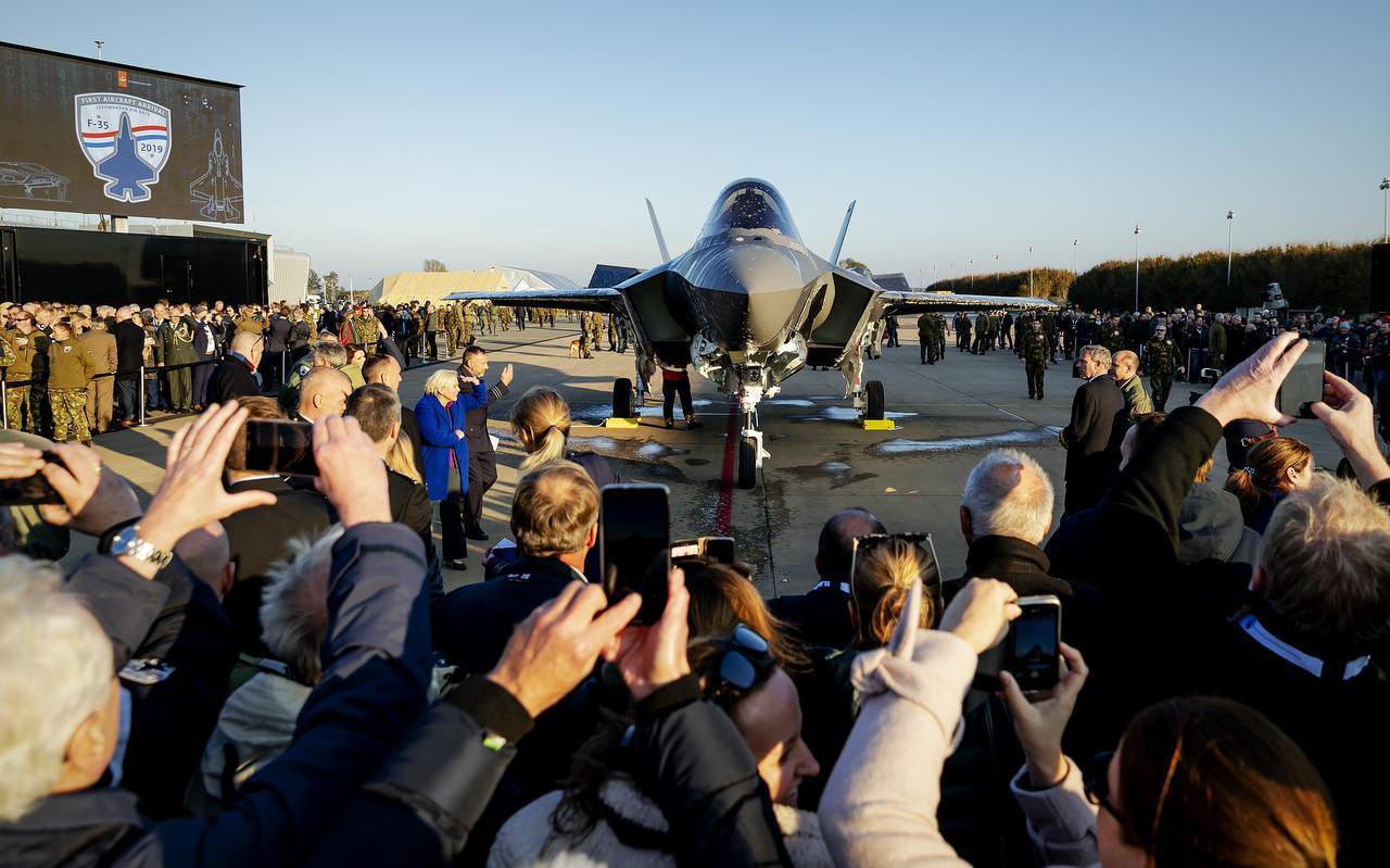 De F-35 kwam in oktober 2019 aan op Vliegbasis Leeuwarden.