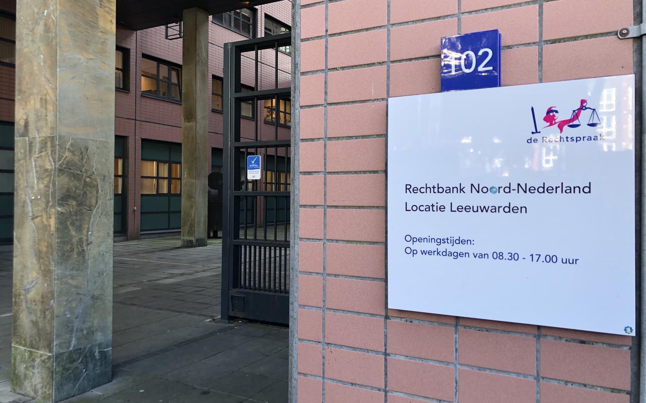 De rechtbank van Leeuwarden aan het Zaailand.