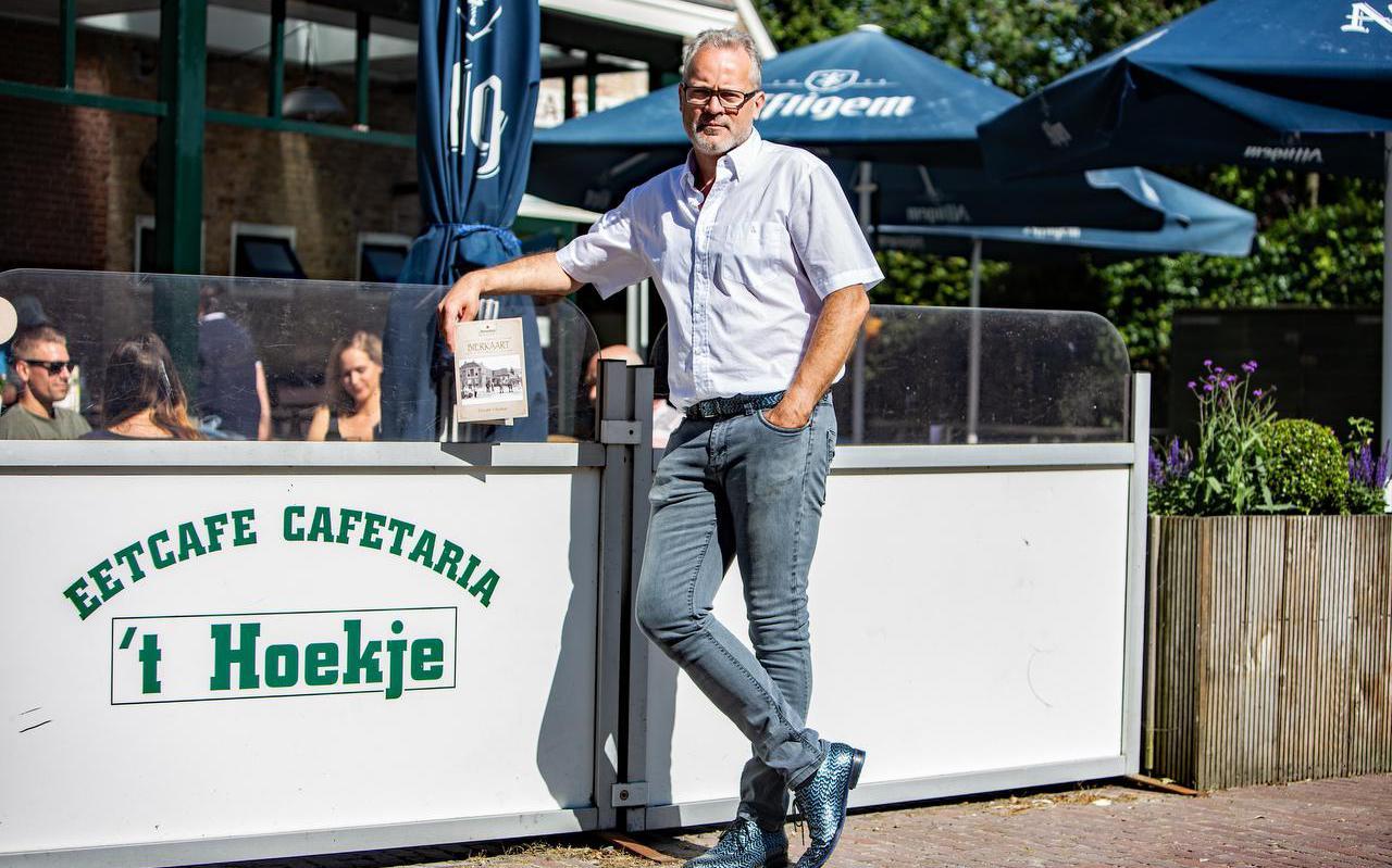 Brant Jan Heidstra is uitbater van café 't Hoekje in Ferwert.