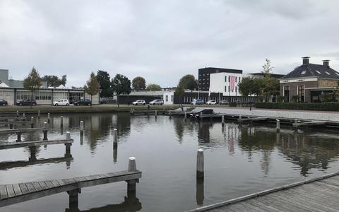 De passantenhaven bij het centrum van Drachten.