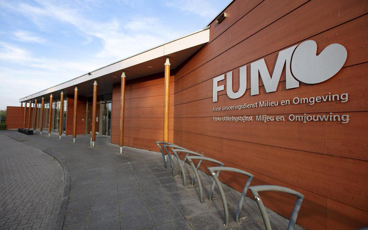Het pand van FUMO in Grou.