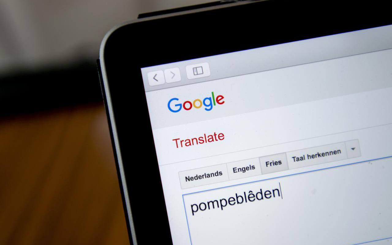 Vertaalprogramma van Google heeft de Friese taal opgenomen.