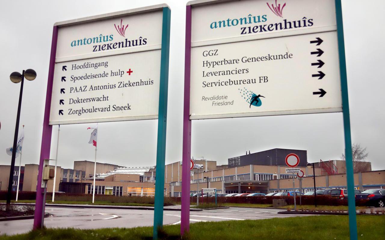 Het Antonius Ziekenhuis in Sneek.